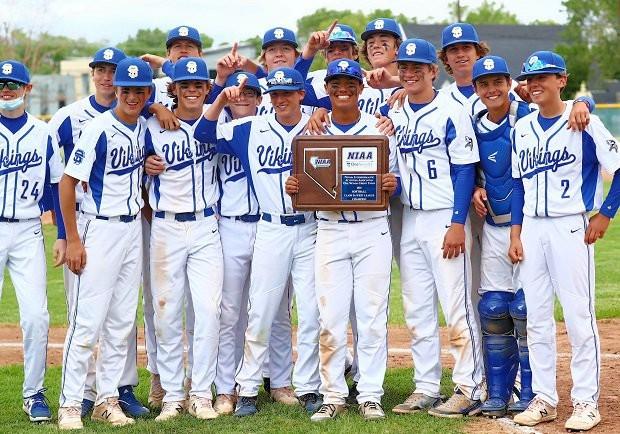 2020-21 secondary school baseball state champions