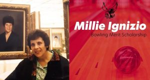 University BOWLING: Robert Wesleyan honor previous star bowler Millie Ignizio by naming grant after her