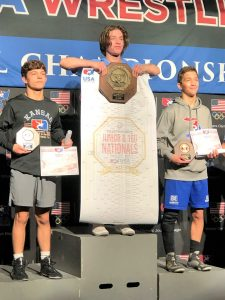 Nearby grapplers sparkle at Fargo nationals
