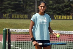 Trinetra Vijayakumar acknowledges objectives with Mt. Hebron young ladies tennis on approach to procuring Player of Year