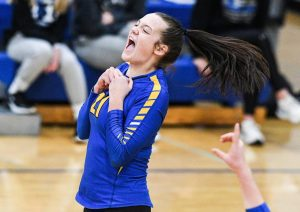 Wilton's Puffer focuses on Cornell volleyball