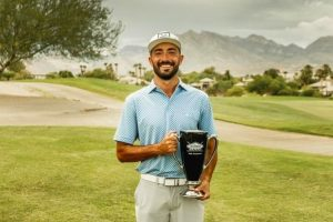 Sanchez's addiction to golf pays off with first pro tournament win