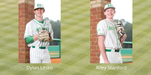 Buford's Dylan Lesko and Riley Stanford continue to bring in awards