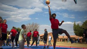 Watch Sixers' Joel Embiid's Hilarious High School Basketball Blooper