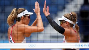 Team USA Beach Volleyball Pair Alix Klineman and April Ross Hours Away From Gold Medal Opportunity