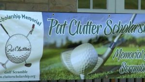 Pat Clutter Scholarship and Memorial Golf Scramble a hole-in-one