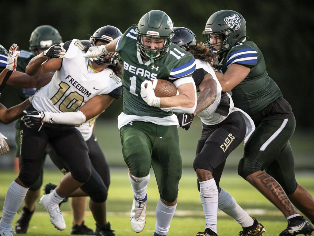 Riverbend's poor ball security allows Freedom to capitalize, roll to victory